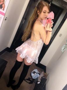 Topless teen selfies from amateur cuties