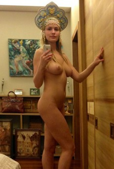 Titted and Leggy young girl from Moscow, amateur..