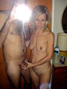 Amateur photos and movies of mature women