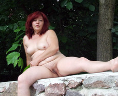Fat BBW riding cock and other naked mature GFs