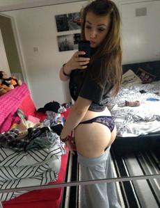 Sexy shy teen girl and erotic teen selfies in..
