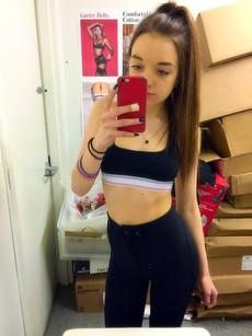 Sexy schoolgirls make selfie