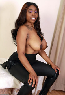 Hot black chicks with nude tits picture..