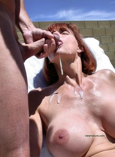 Incredible beginners jizzed picture featuring..