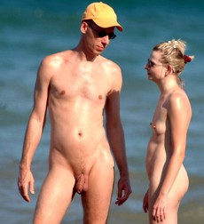 Fresh selection of caught nudists