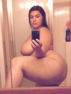 Busty webcam model