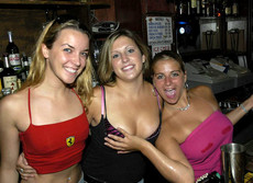 Hot drunk babes letting it all out.