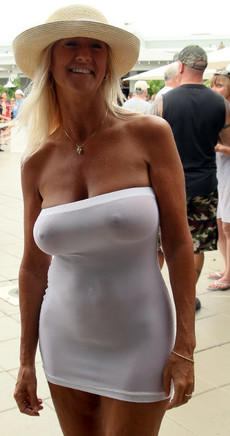 These wives want to show huge tits