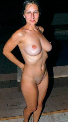 Horny ex-wives with natural tits show their nude..