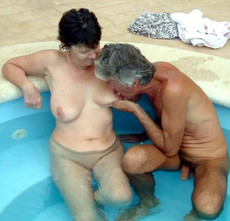 Homemade swinger porn with two mature couples