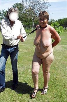 Fatty mature hooker sucking outdoor in hot slave..