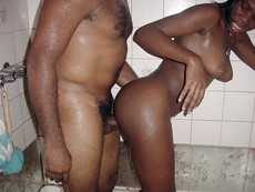 Wow! Best amateur pictures with ebony chicks