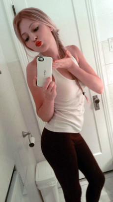 Amateur teen coeds showing their nipples in this..
