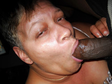 Black mature whore take their first steps in the..