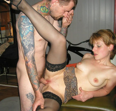 Mature women getting pounded by friends in head..