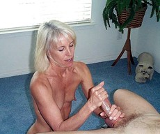 Blonde mature was unfaithful to her husband..