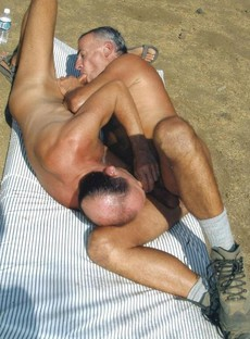 Amateur mature gay males fucks in outdoor