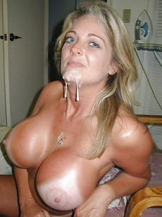 Hot rookie big load pic featuring hot blonde big..