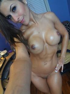 Busty naked milf