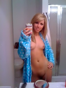 Amazing homemade selfshot picture featuring..