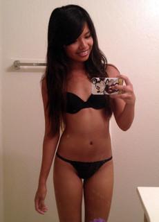 Beautiful Chinese girls naked selfie