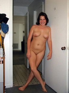 She enjoys being naked and showing her nudity
