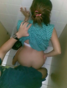 Wild chinese girl hot fucked in toilet in the..