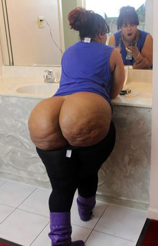 Chubby black wives with huge asses, ghetto black..