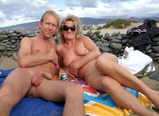 Nudist ass and pussy, tanned mom on the european..
