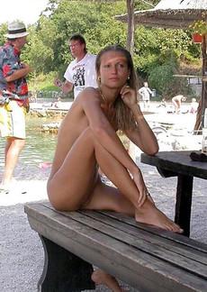 The Unfaithful Horny french madame flashing her..
