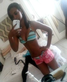 Funny and erotic selfies from young black coeds..