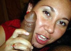 Funny Japanese girlfriend greedily sucking big..