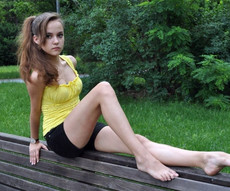 Little pale teen girls with pale skin - naked..